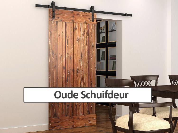 Prachtige oude schuifdeur maken eigen huis en tuin for Eigen huis en tuin kast maken