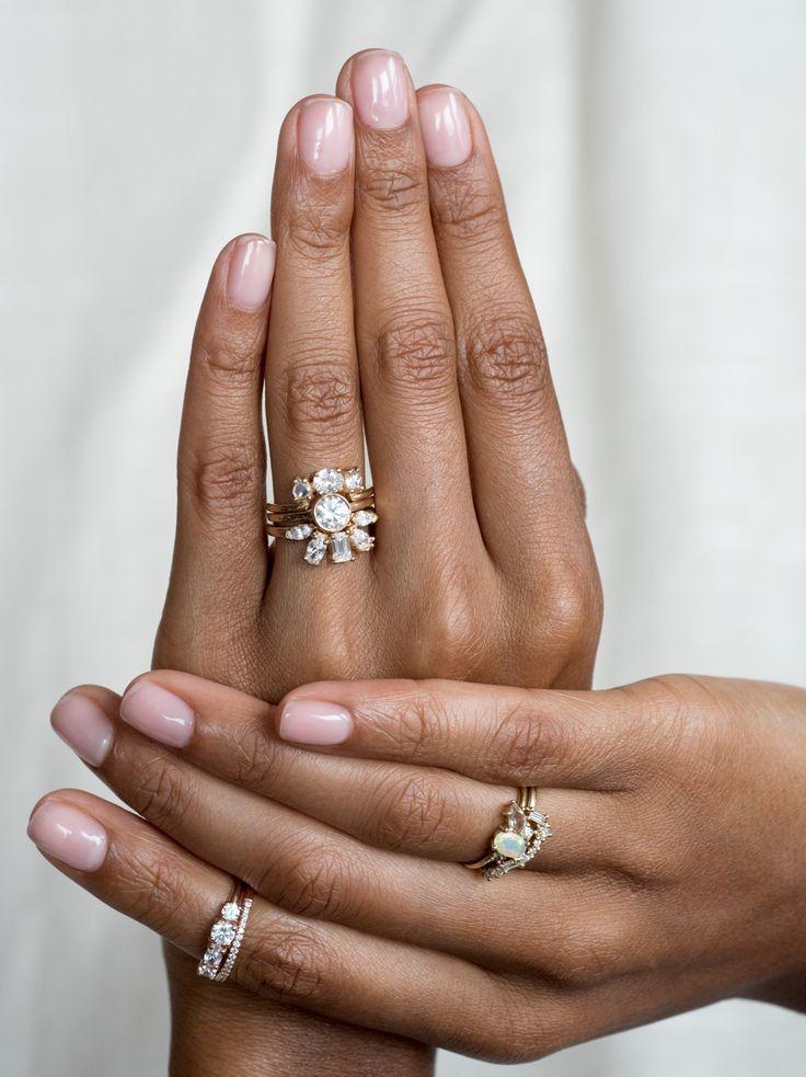 Custom jewelry diamond wedding bands wedding rings