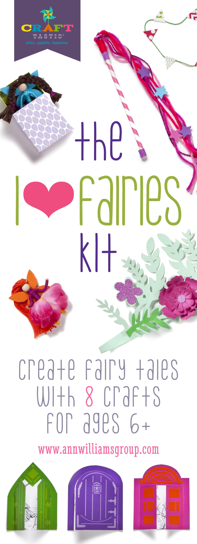 Create Your Own Fairy Tale With The I Heart Fairies Kit