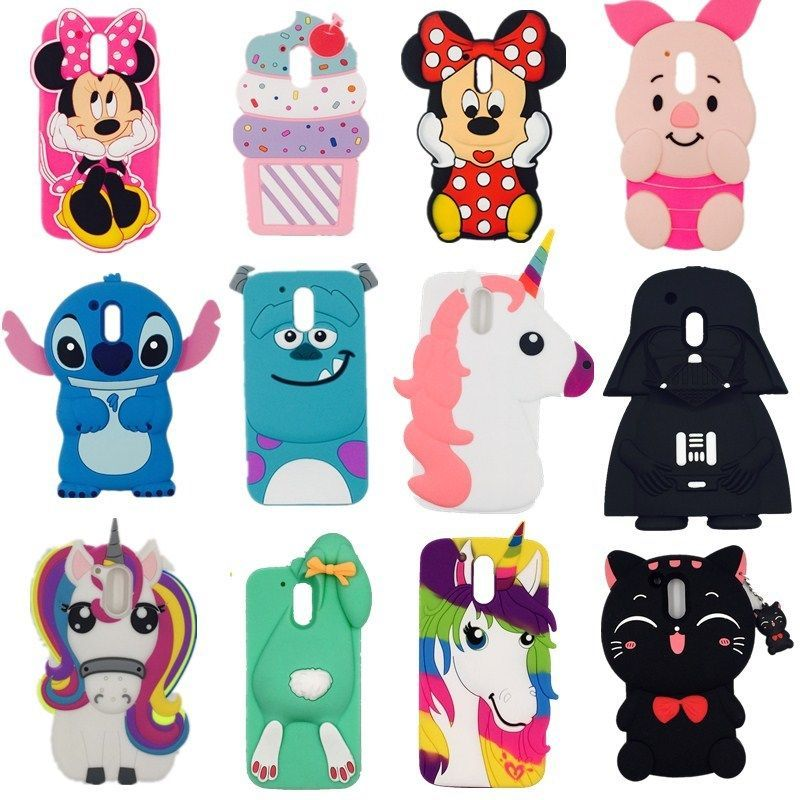 online store 47236 37aa8 $2.99 - 3D Cute Cartoon Soft Silicone Phone Case Back Cover For ...