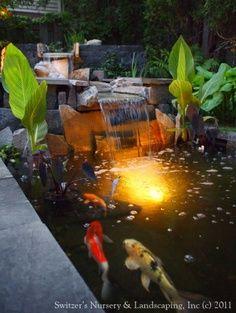 Koi ponds Decoration ideas