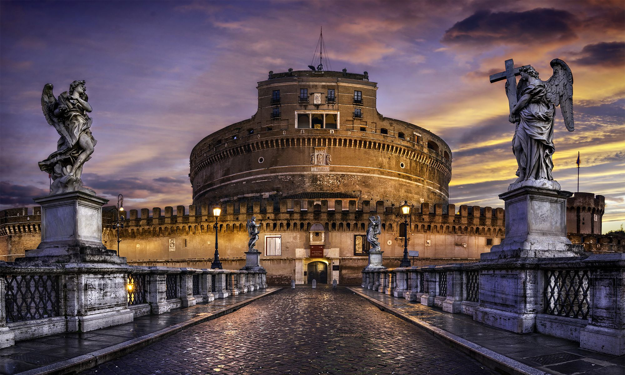 Castel-SantAngelo-Rome-Italy