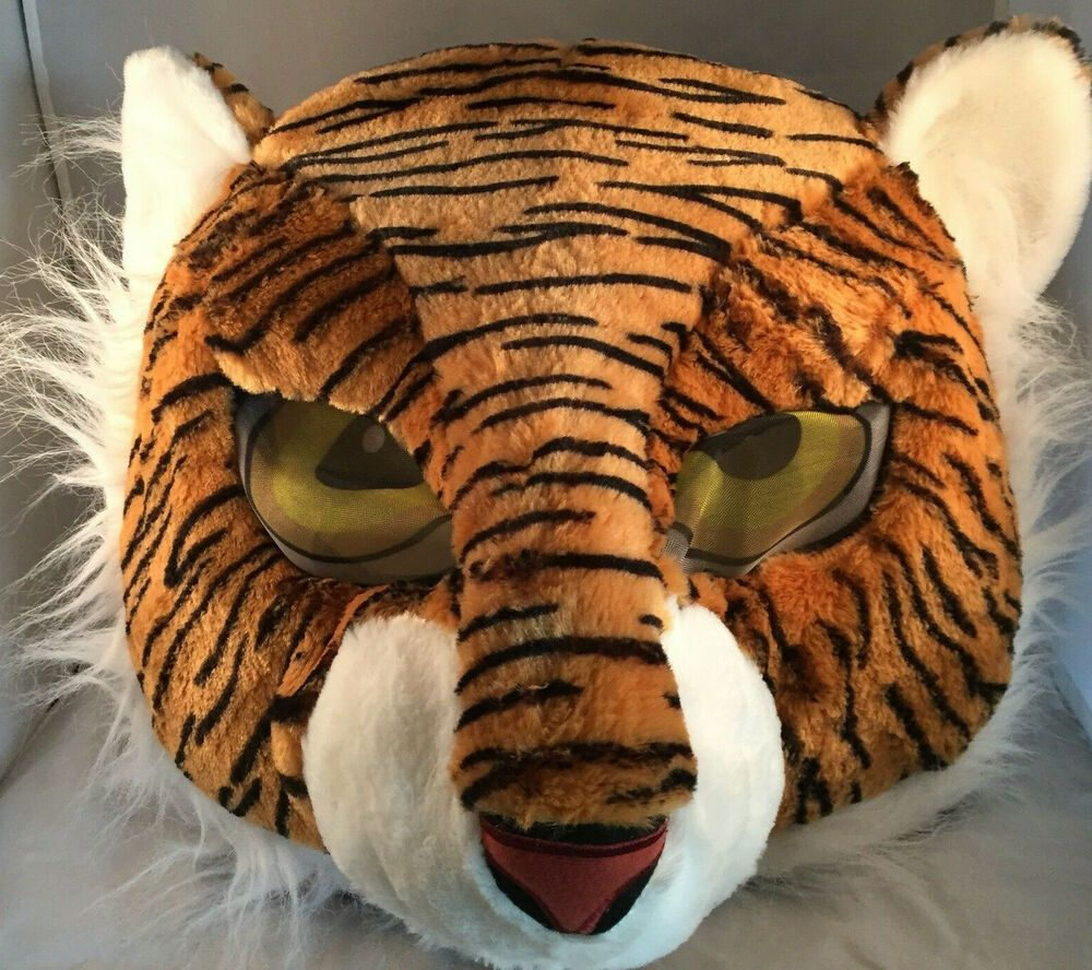 Tiger Maskimal; Large Plush Full-Head Mask Cosplay