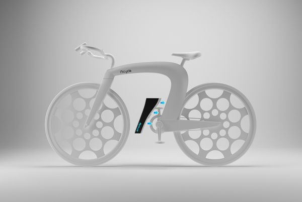 The Ncredible Ncycle Futuristic Foldable Bike Concept Designed