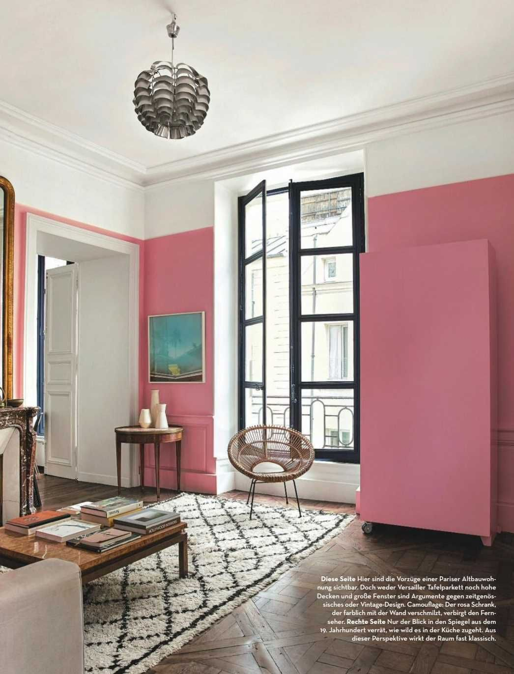 Barbie Pink Wall Paint Color Living Room With Walls Scheme