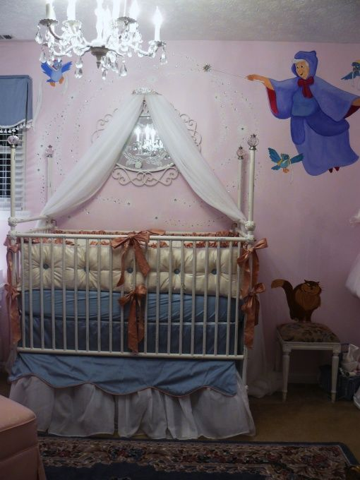 Just call her Cinderella Nursery Designs Decorating