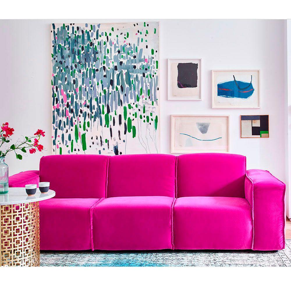 velvet sofas  our pick of best  ideal home  velvet sofa