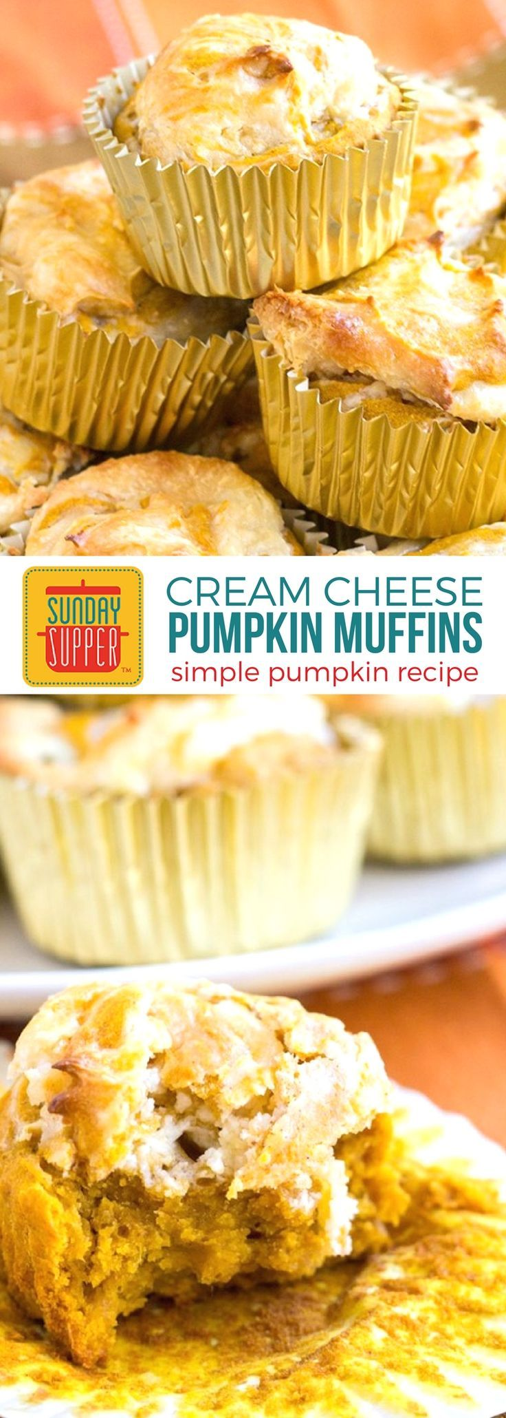 Bake up our Pumpkin Cream Cheese Muffins for an easy fall treat ...