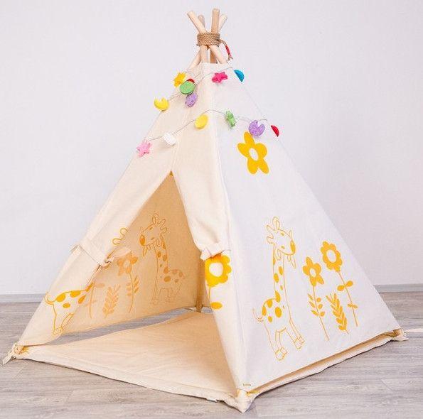 Childrenu0027s Room Decor u2013 Tipi Teepee Tepee Wigwam Kids Play Tent u2013 a unique product  sc 1 st  Pinterest & Childrenu0027s Room Decor u2013 Tipi Teepee Tepee Wigwam Kids Play Tent ...