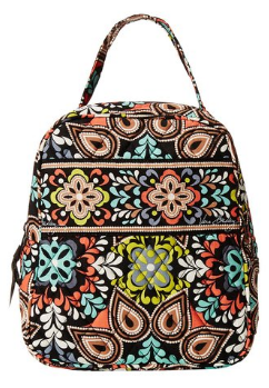 This Stylish Vera Bradley Lunch Bag Features A Roo