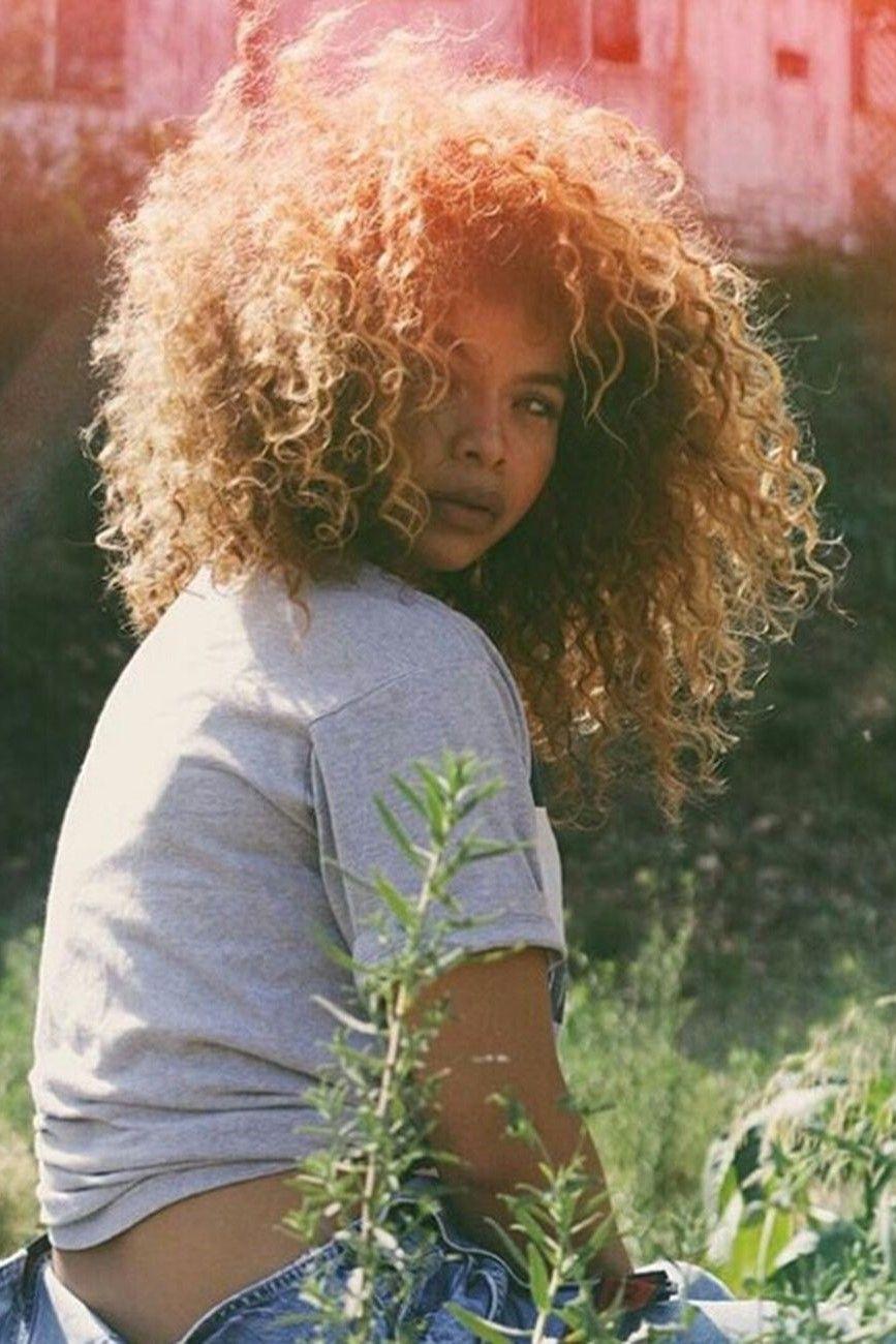Crystal Westbrooks Hair Afro Kinky Curly