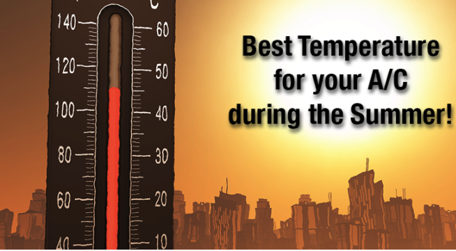 Best Temperature for AC during Summer Summer temperature
