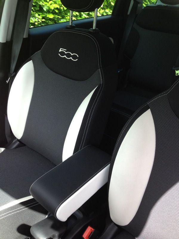 armrest for fiat 500 l double color. Black Bedroom Furniture Sets. Home Design Ideas