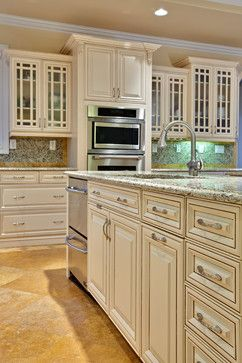 Traditional Kitchen Photos Small Kitchens Living Room Ivory