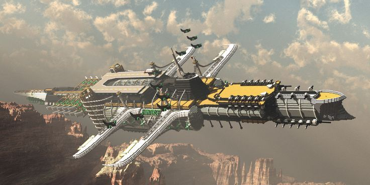 minecraft airship blueprints - Google Search | spaceship ...