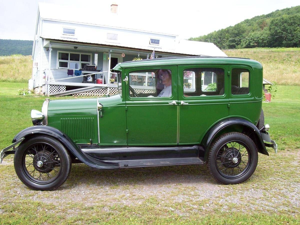 1929 Ford Model A 4 Door Sedan For Sale Hemmings Motor News Ford Models Ford Ford Motor