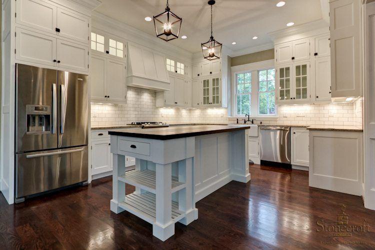 Love This House 10 Ft Ceilings In Kitchen Home Kitchens Kitchen Design Diy Kitchen Island