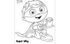 Super Why Coloring Page:   Print and color Super Why from Super Why.  http://www.sproutonline.com/printables/super-why-coloring-page