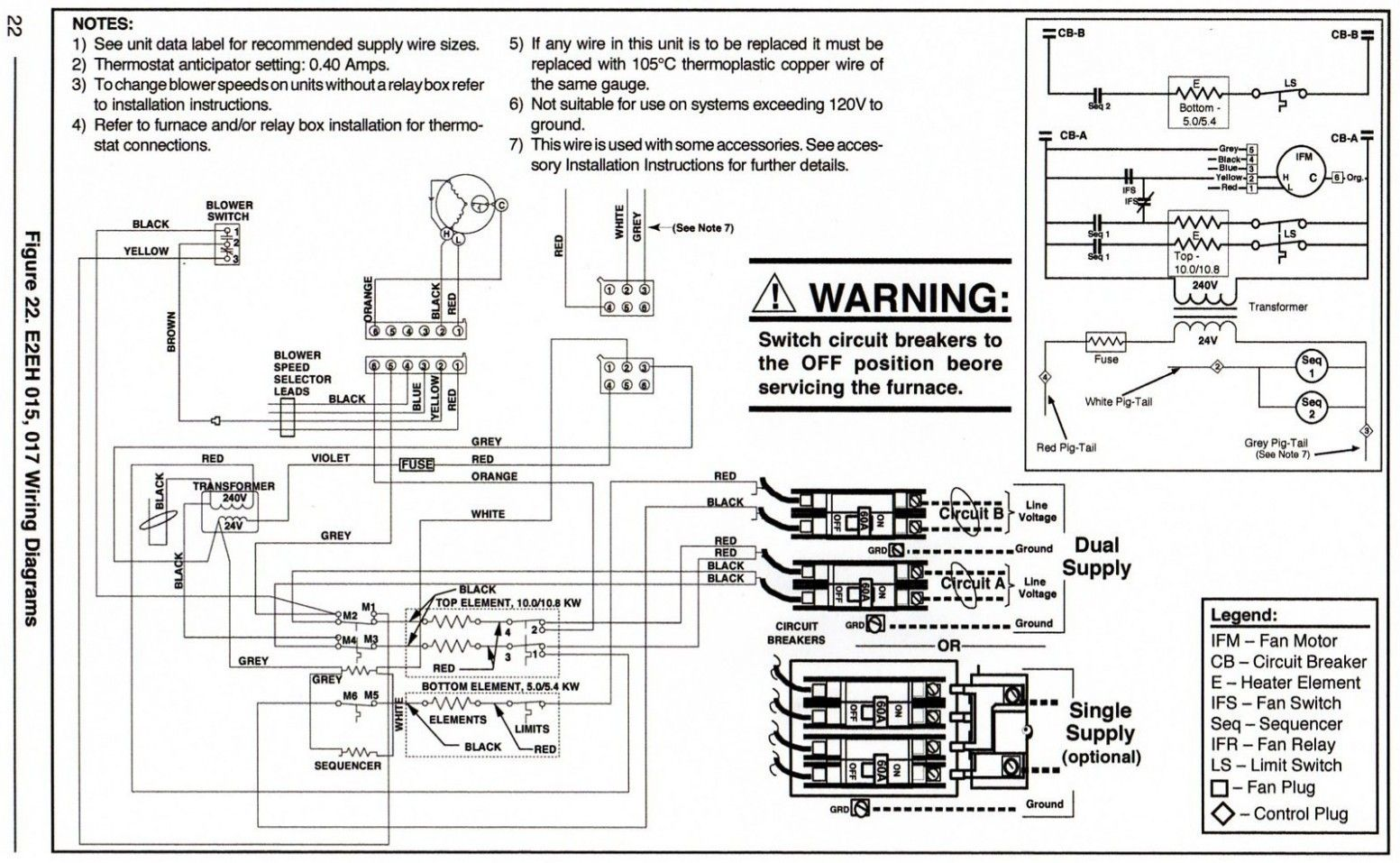 8a971 Intertherm Wiring Diagram Blower