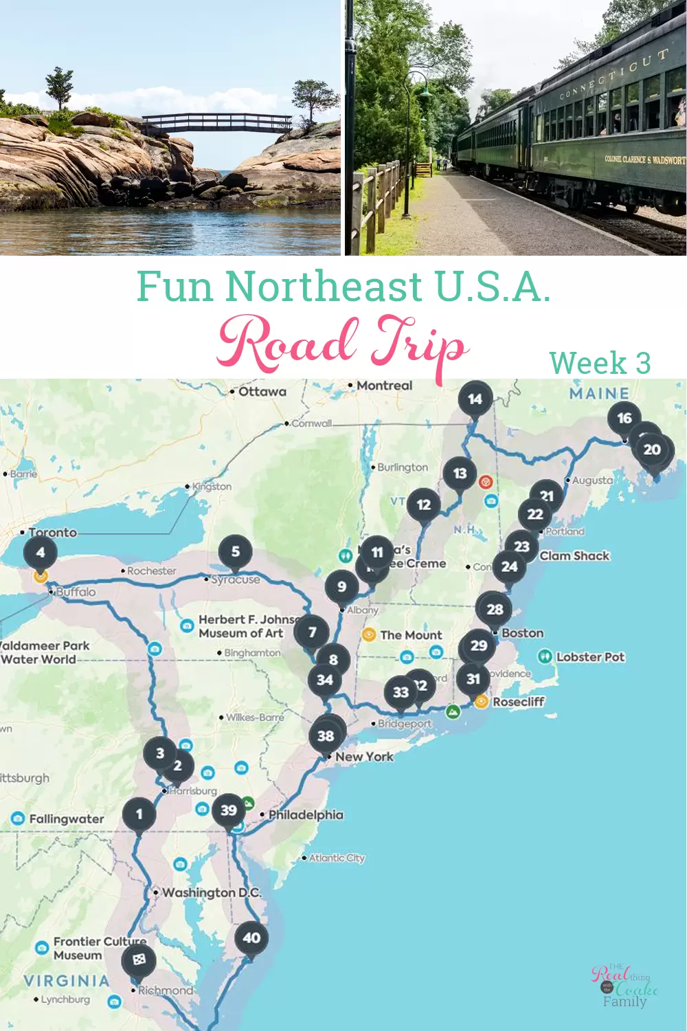 Do you know these 5 must see place to visit with your family? -  I love these ideas for family road trips in the Northeast United States! Includes road trip ideas,  - #BudgetTravel #CultureTravel #family #place #RoadTrips #these #TravelTips #visit