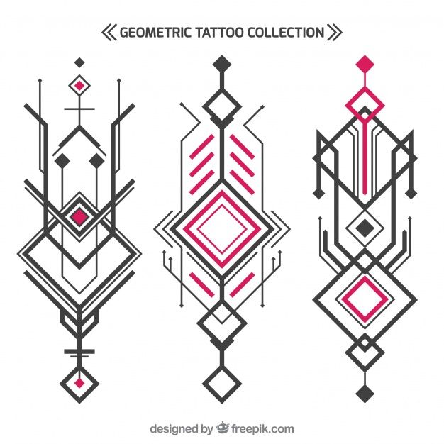 Discover Thousands Of Copyright Free Vectors Graphic Resources For Personal And Commercial Us Geometric Tattoo Design Geometric Tattoo Sketch Geometric Tattoo