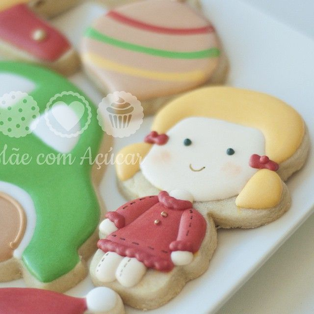 Girl cookie // maecomacucar
