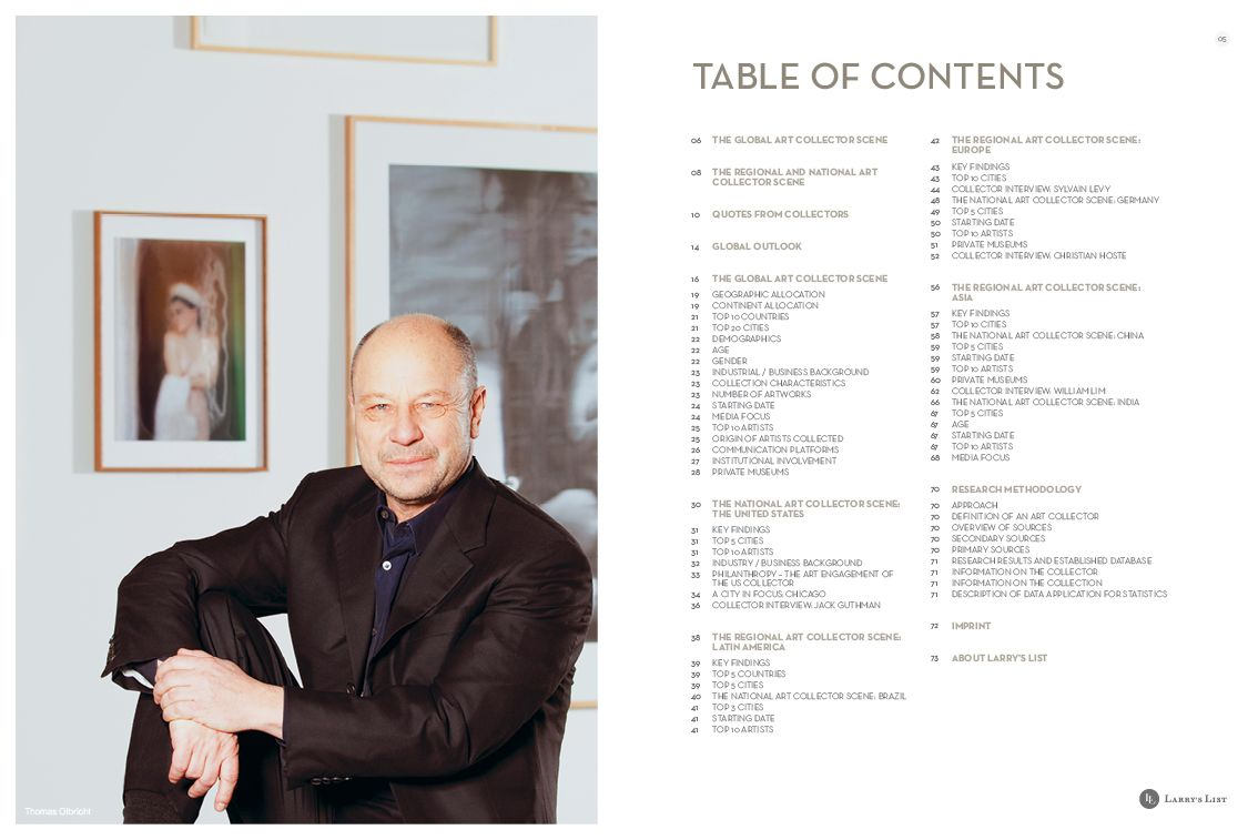 Larrys List Art Collector Interviews And Art Collector Email - Private museums in us