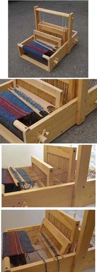 Table Looms By Tumbleweed Woodworks 2 Harness Inkle