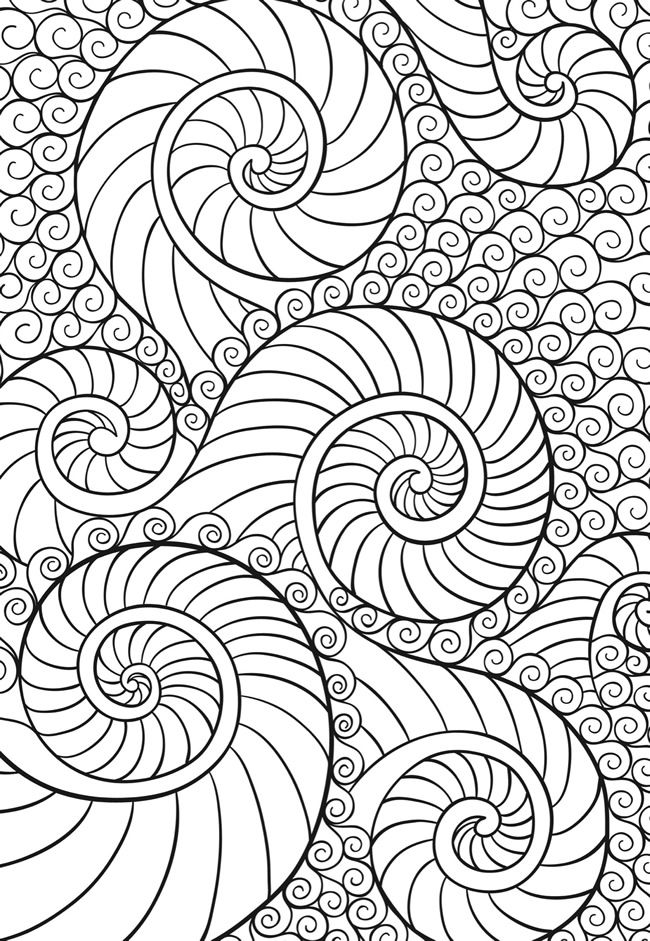 Welcome to Dover Publications Creative Haven Zenscapes coloring page ...