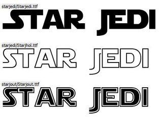 free star wars font