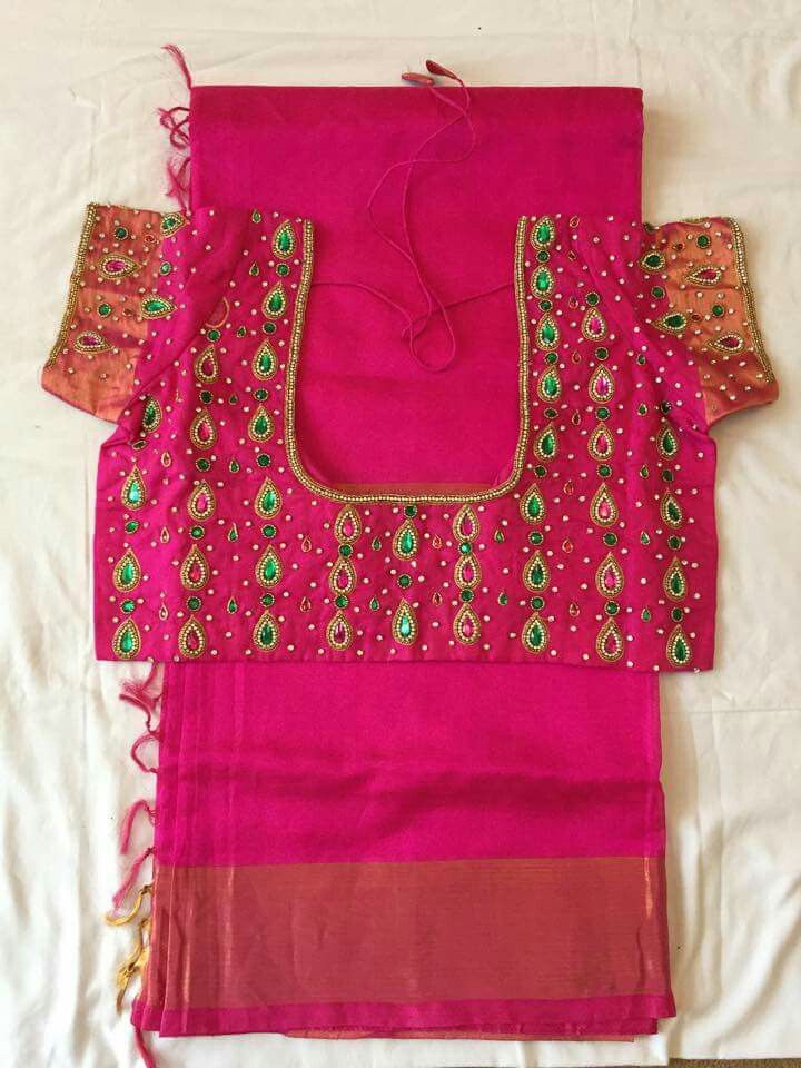 Pin By Swasthika Nathan On Designer Blouses Blouse