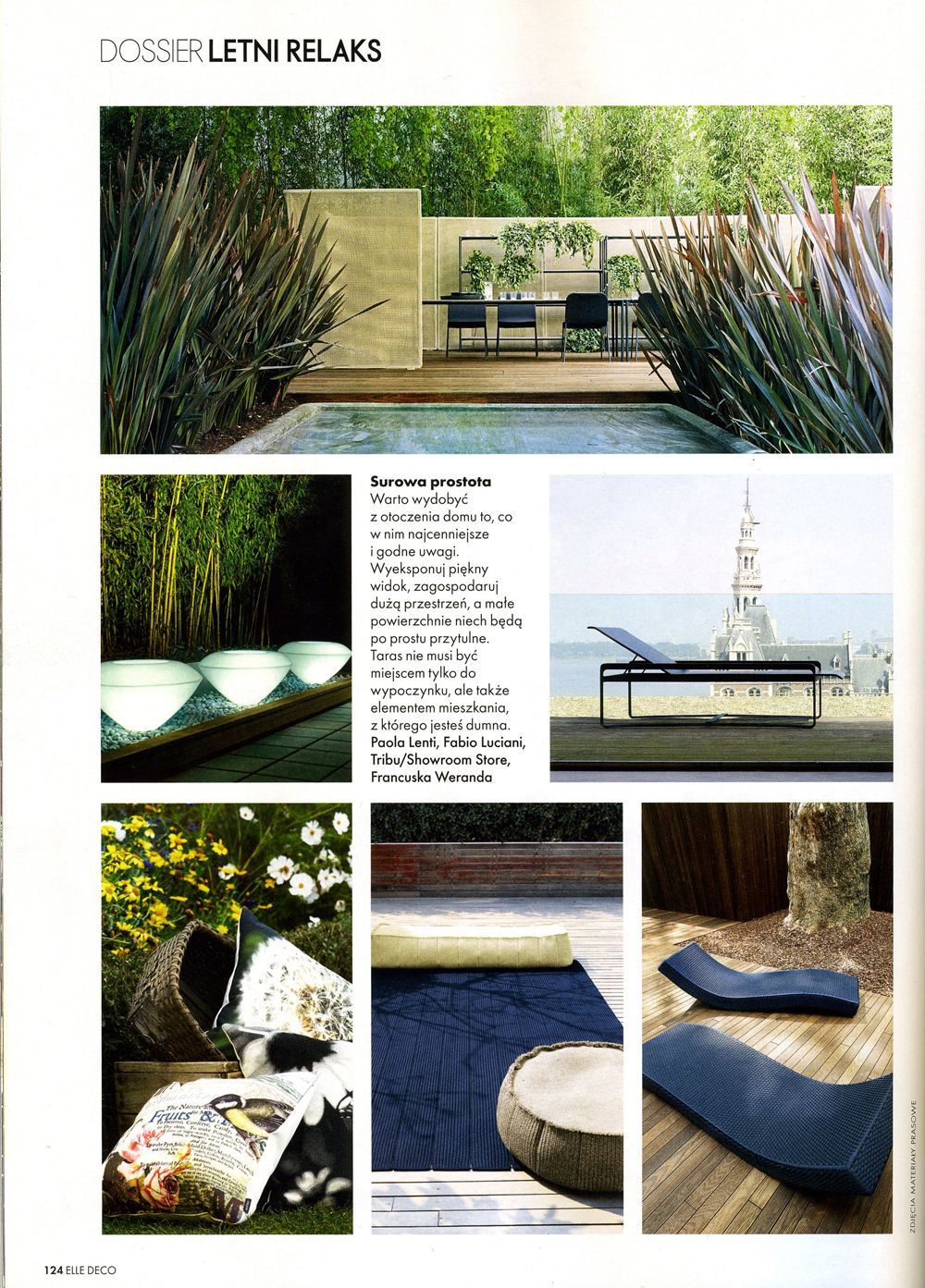 outdoor collections, Paola Lenti & Tribu @ Showroom Store | Dwell ...