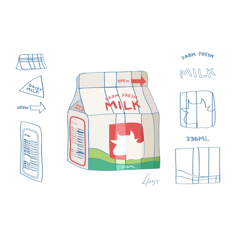 Milk 01 illustrator 18 S e p 14