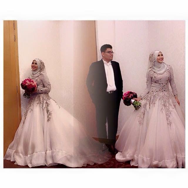 arma couture malaysia muslim wedding dress