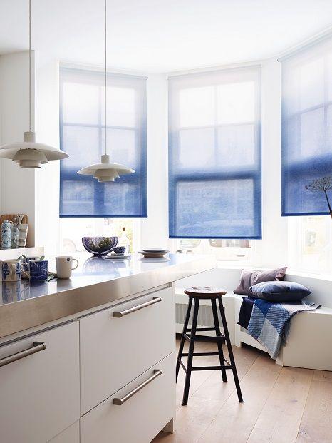Mooie gordijnen! | Roller Blinds | Pinterest | Window, Ikea hack and ...