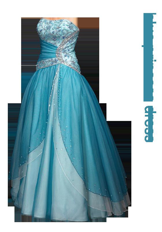 Lovely prom dresses inspired by Elsa\'s blue gown in Disney\'s Frozen ...