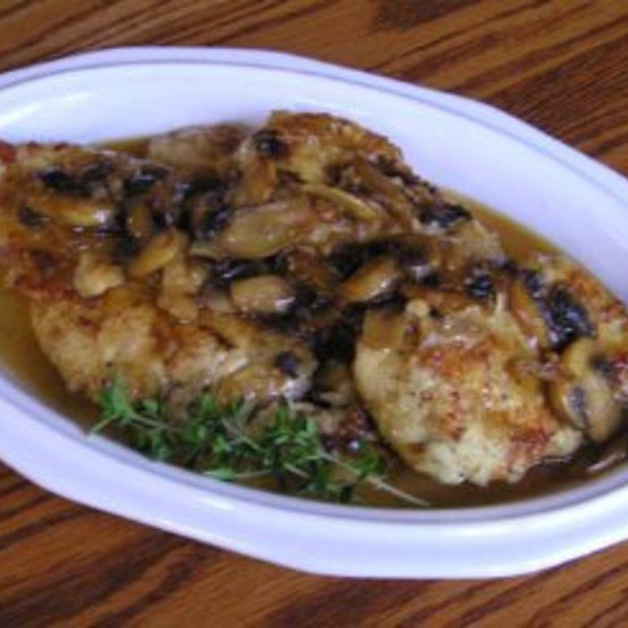 BJ's Chicken Marsala