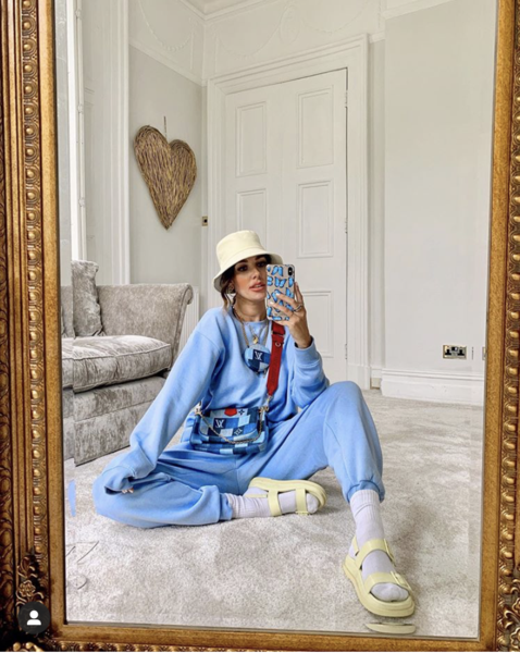 5 Loungewear Outfits You'll Be Living In While Social