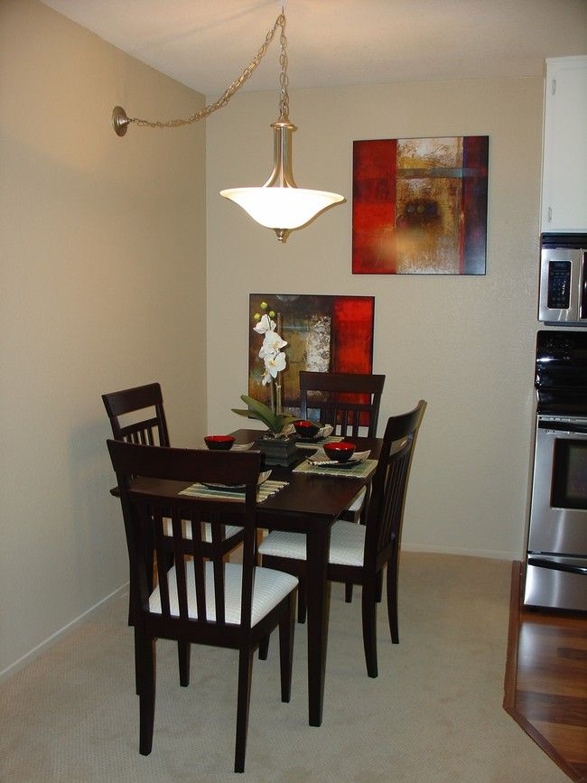 Decorating Small Dining Rooms Kitchen Ideas Pinterest Wall