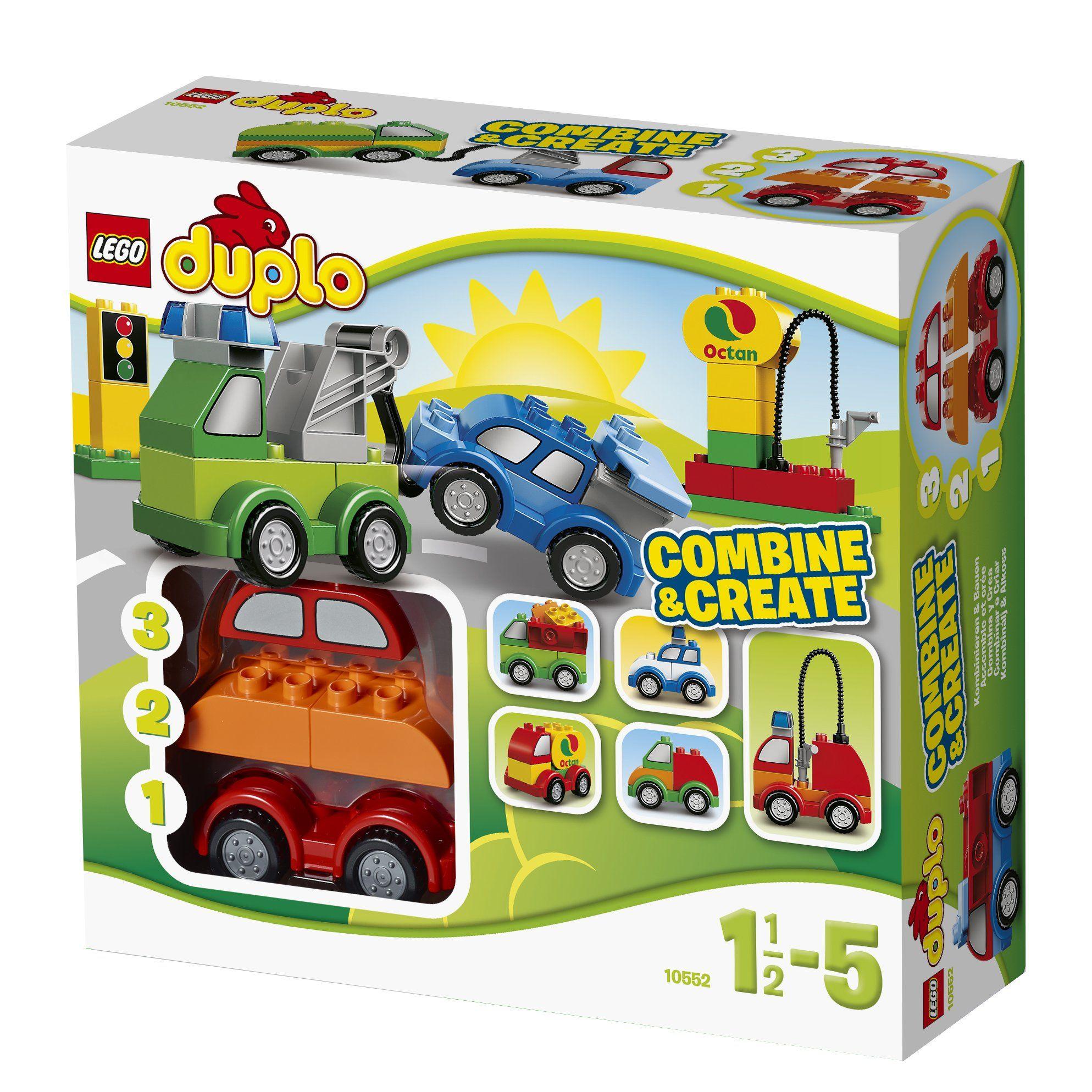 LEGO DUPLO 10552 Creative Cars Amazon.co.uk Toys & Games