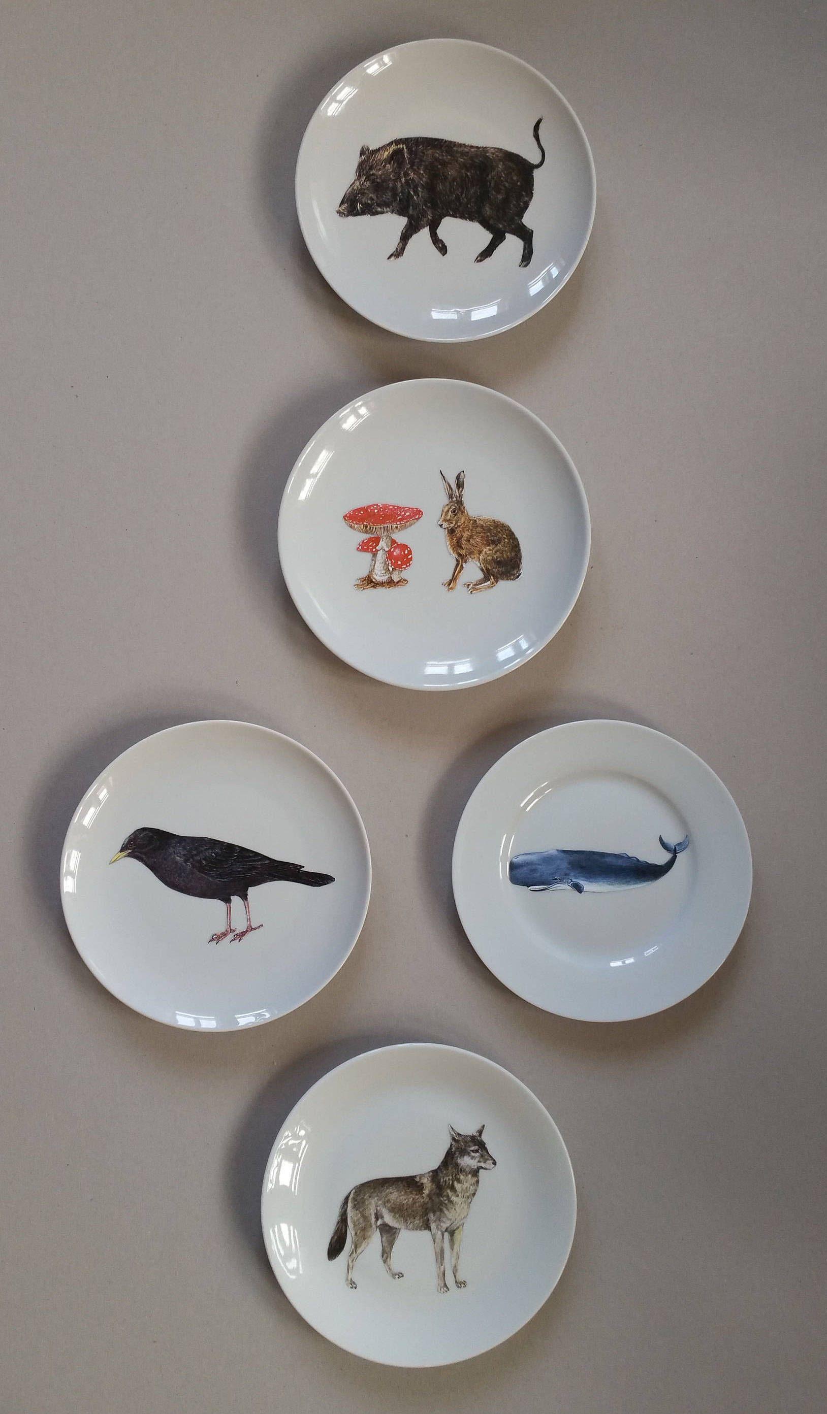 Wandteller Keramik Schwalbe Deko Bild Wandschmuck Küche