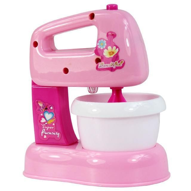 Mini Kitchen And Home Appliances Toys With Light Amp Sound