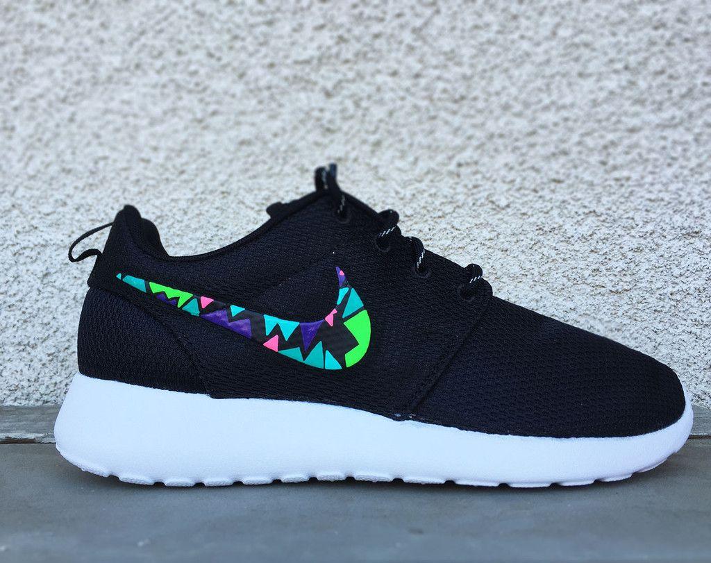 Nike Roshe Run Custom Design Rosherun Mens And Womens Sizes Buty Do Biegania Nike Buty Do Biegania Nike