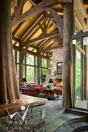 Like living in a treehouse!