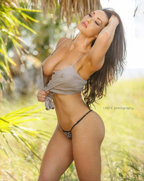 busty female fitness models