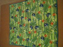 Double-sided Blankie  Touchdown side for grandchild #12