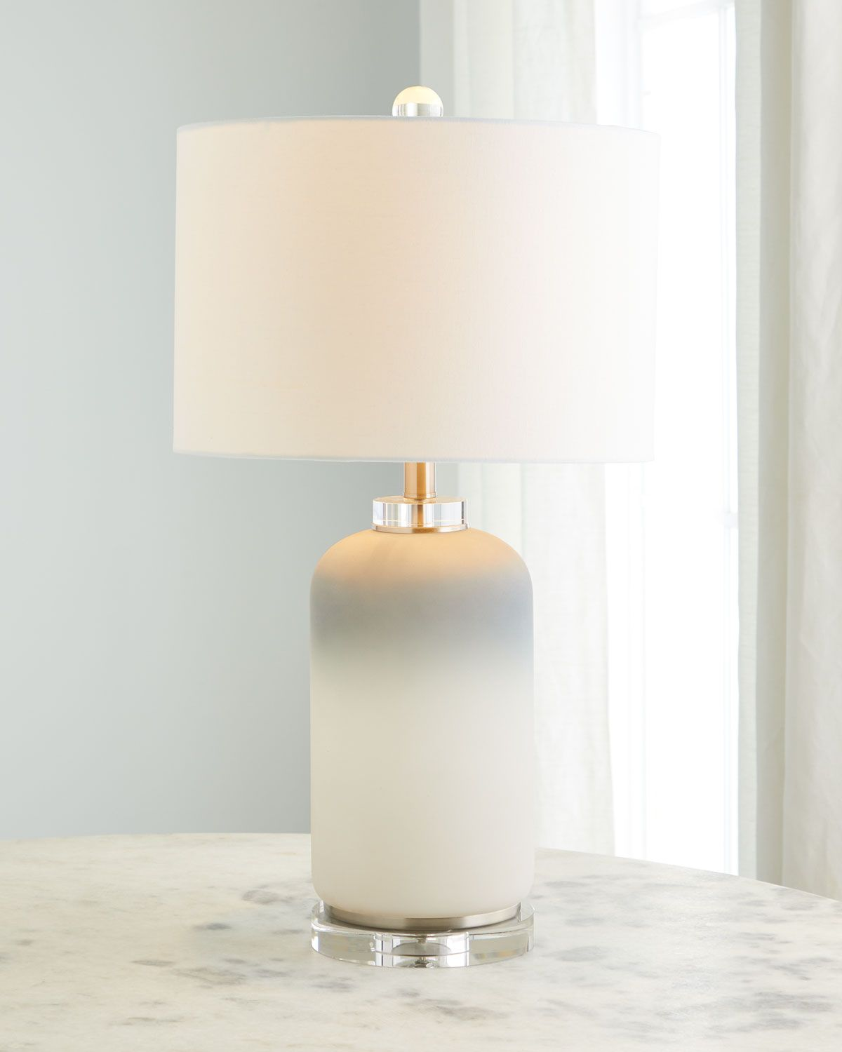 Couture Lamps Ombre Glass Crystal Table Lamp Crystal Table Lamps Table Lamp Lamp