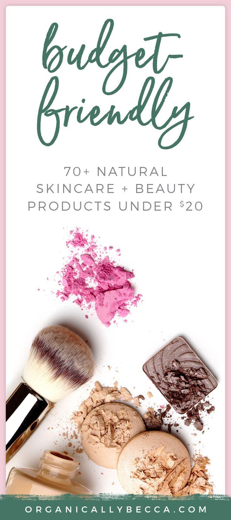 Budget Buys: 70+ Green Beauty Products Under $20 Bucks! -   15 makeup Beauty budget ideas