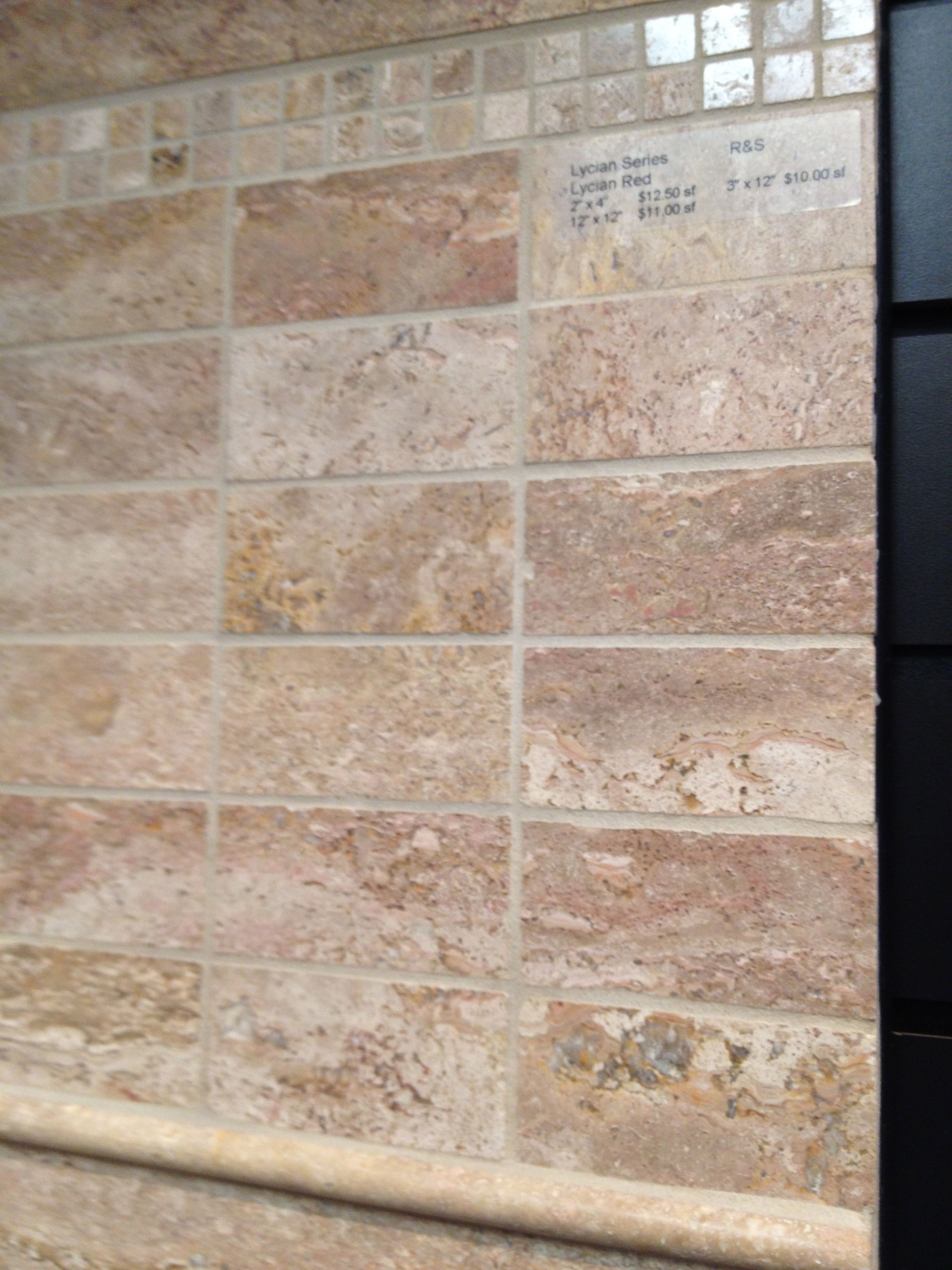 Walnut travertine wall tile walls fences gates pinterest walnut travertine wall tile dailygadgetfo Image collections