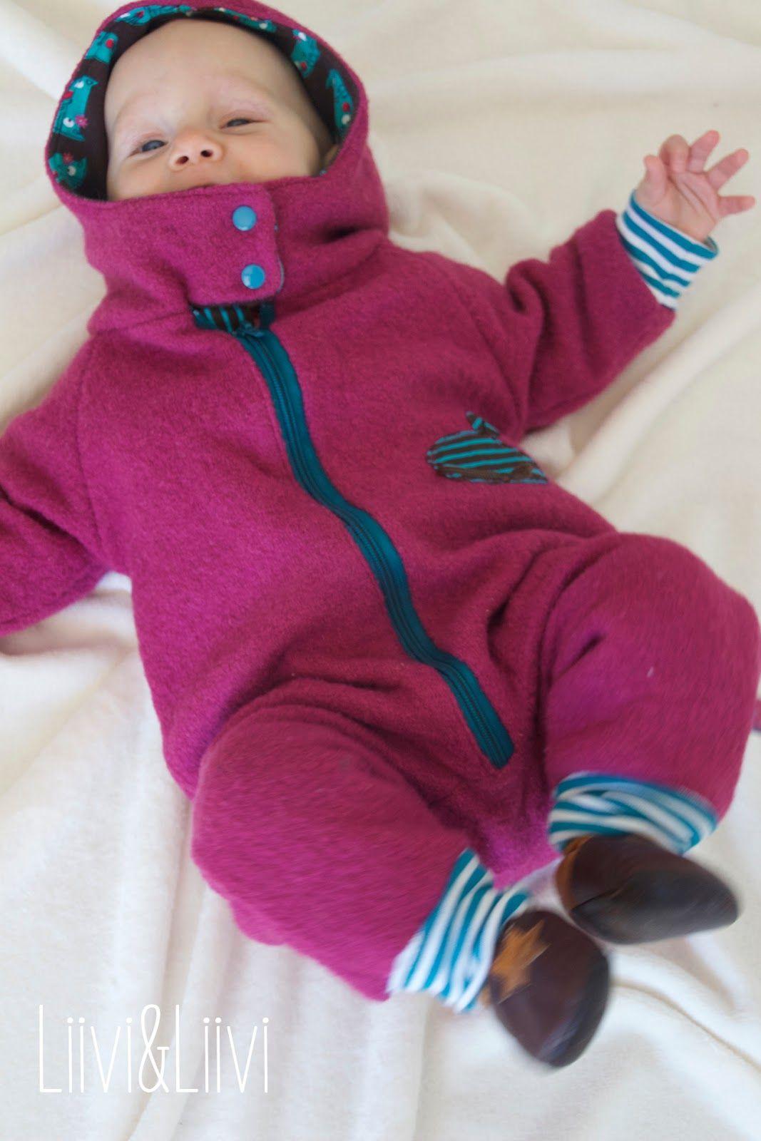 Rund ums Baby - Wagen- und Trageanzug | Baby anzug nähen ...